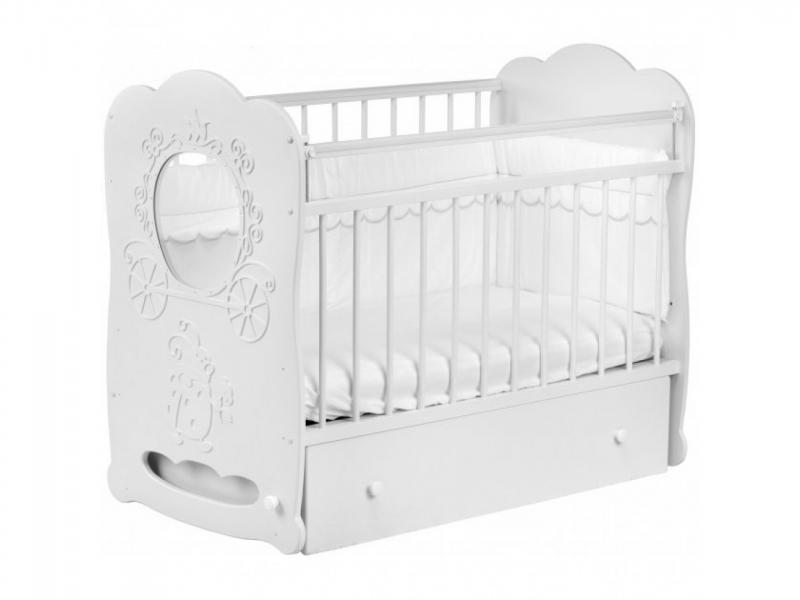 Детская кроватка «Карета»