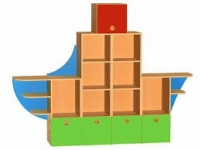 Детская стенка «Корабль»