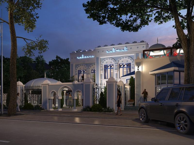 Дизайн фасадов ресторанов