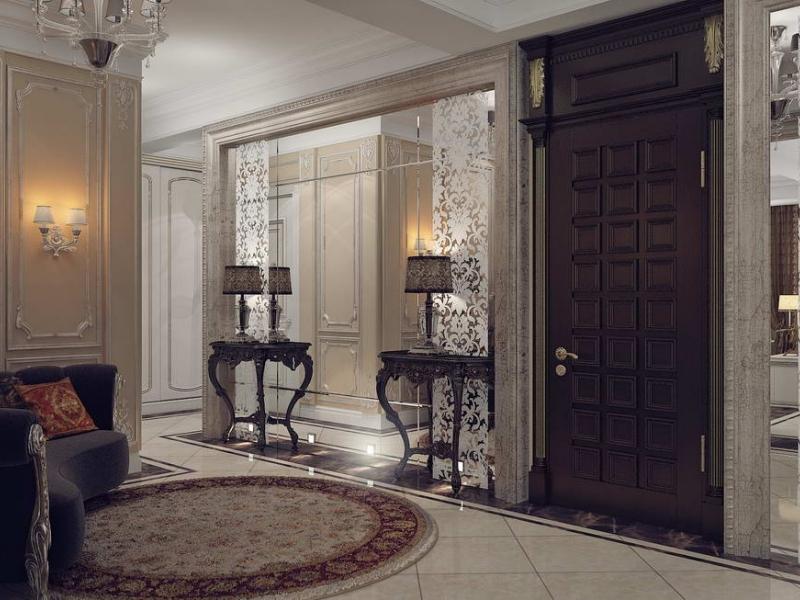 Дизайн квартиры гостиная - кухня
