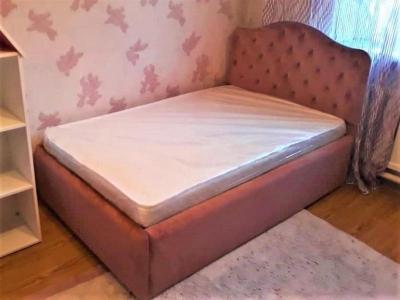 Донна 2 Кровать широкая, обтянутая тканью