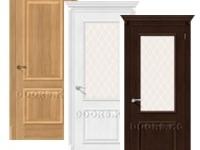 Двери серии Classico с отделкой Эко Шпоном