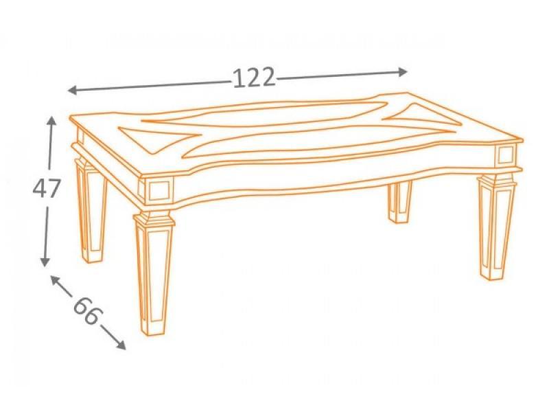 Журнальный столик Tessani T099-1