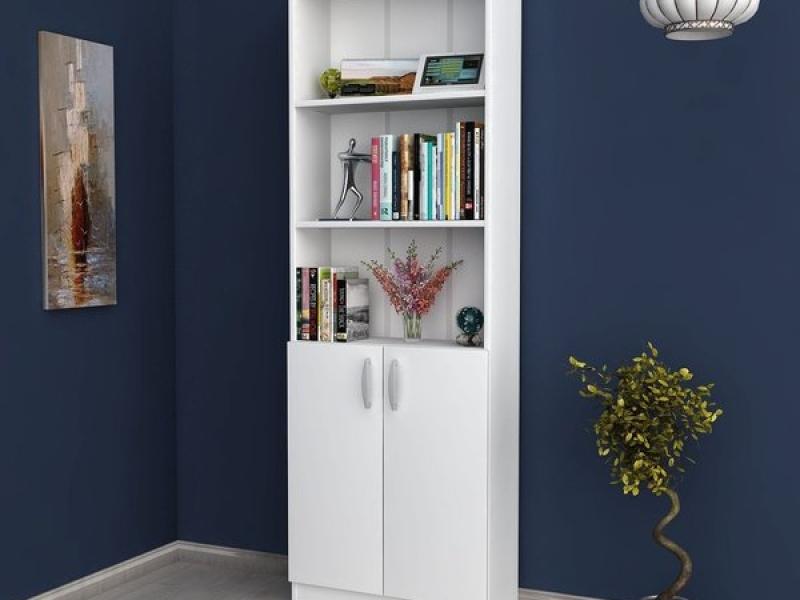 Книжный шкаф Liberty белый