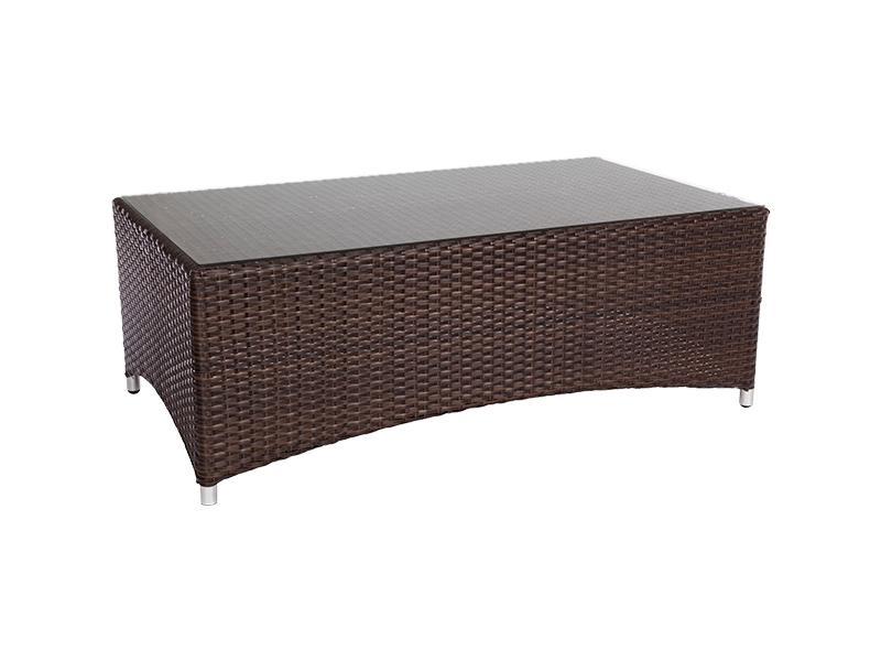 Кофейный столик плетеный 2