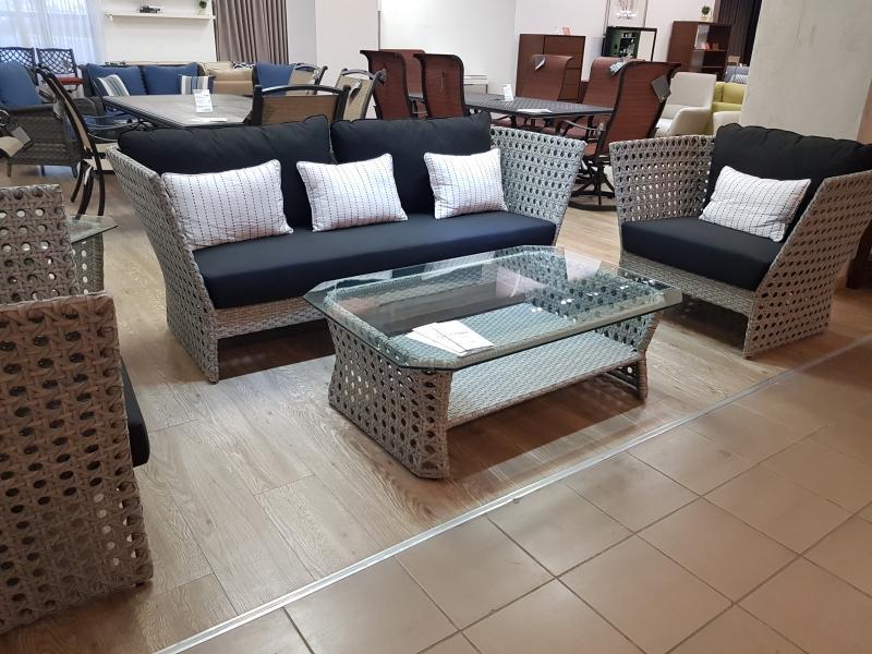 Комплект мебели из полиротанга