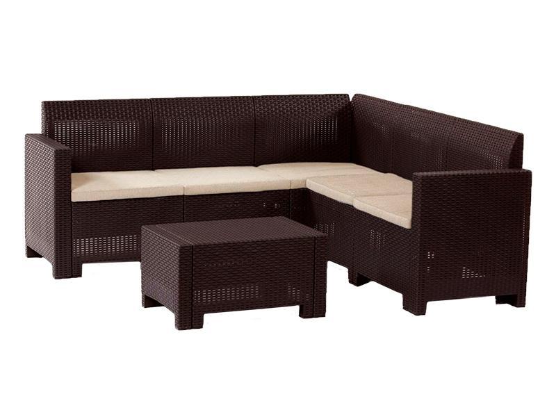 Комплект плетеной мебели 3