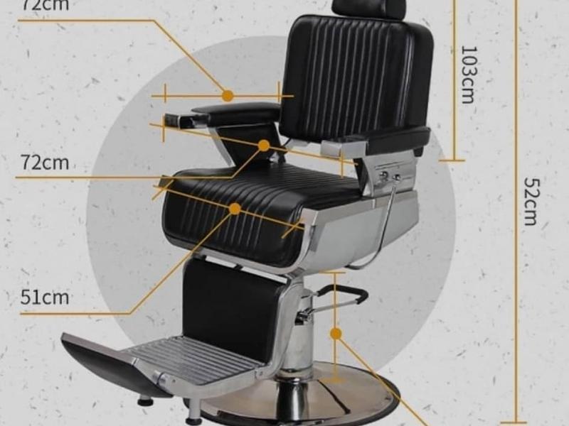 Кресло барбершопера