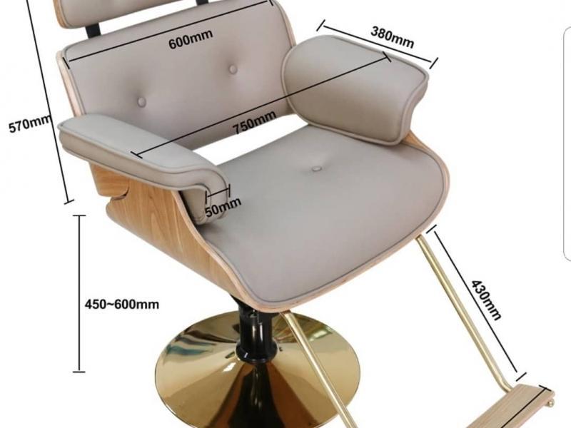 кресло парикмахера дерево