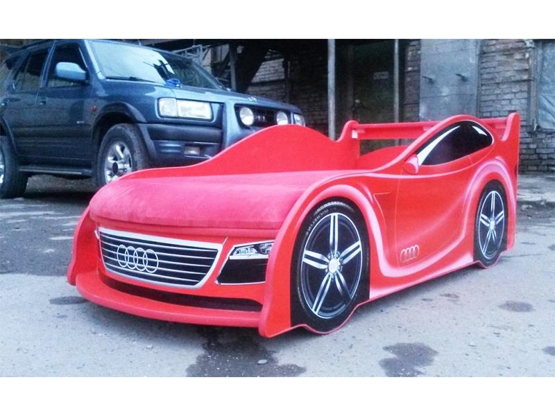 Кровать Audi Красная