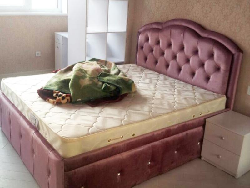 Кровать Кожзам 2