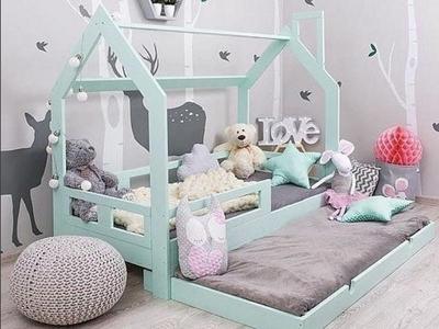 кровать в скандинавском стиле