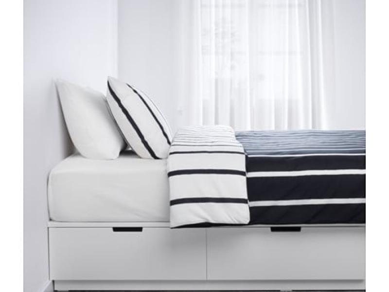 НОРДЛИ Каркас кровати с ящиками