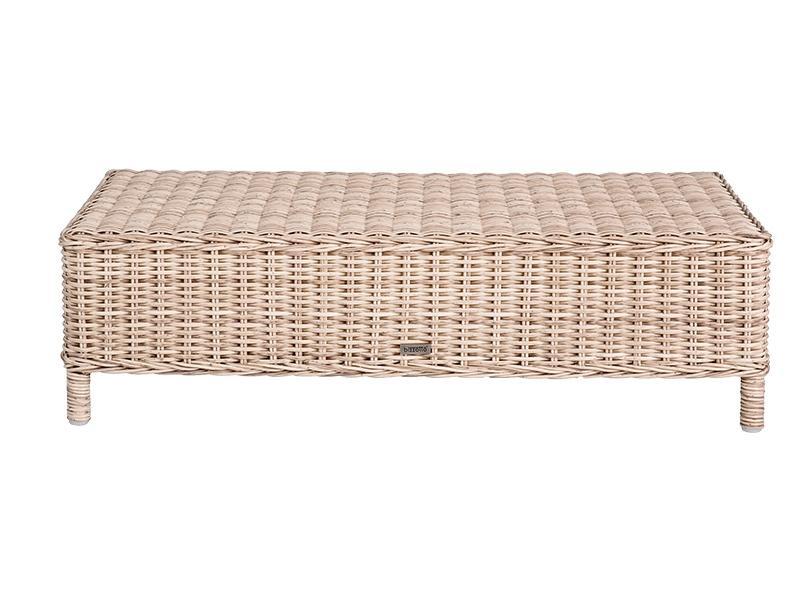 Плетеный кофейный столик