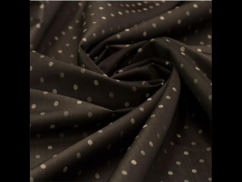 портьера с рисунком, Жаккард цвет: Черный