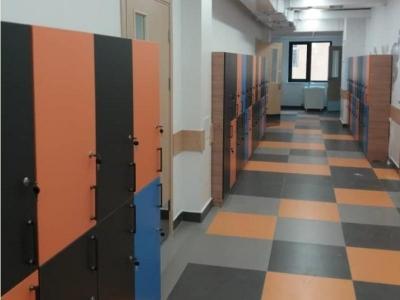 шкафы для школ и садиков с замком