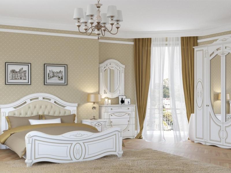 Спальный гарнитур Александрина 4 дв