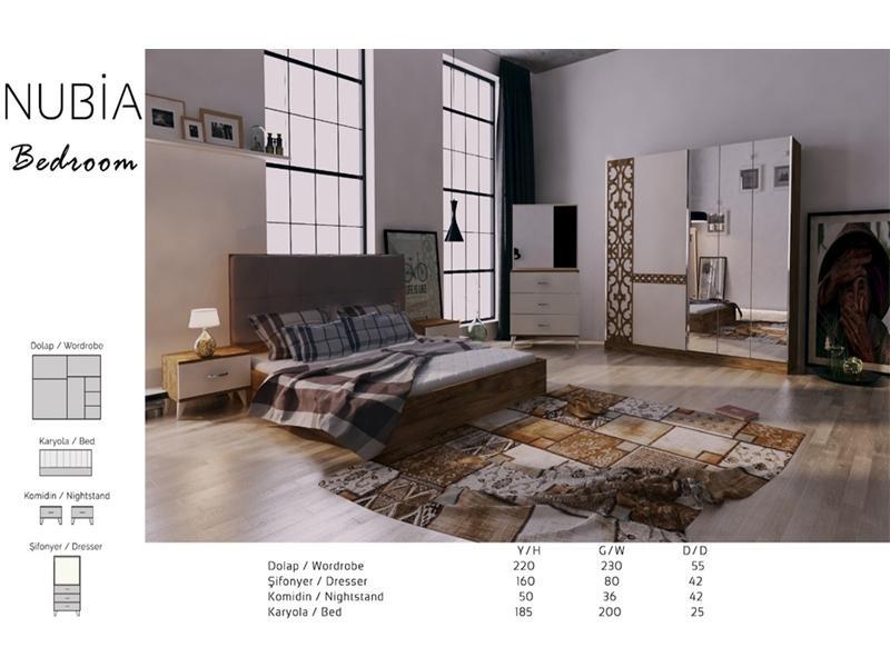 Спальный комплект Nubai