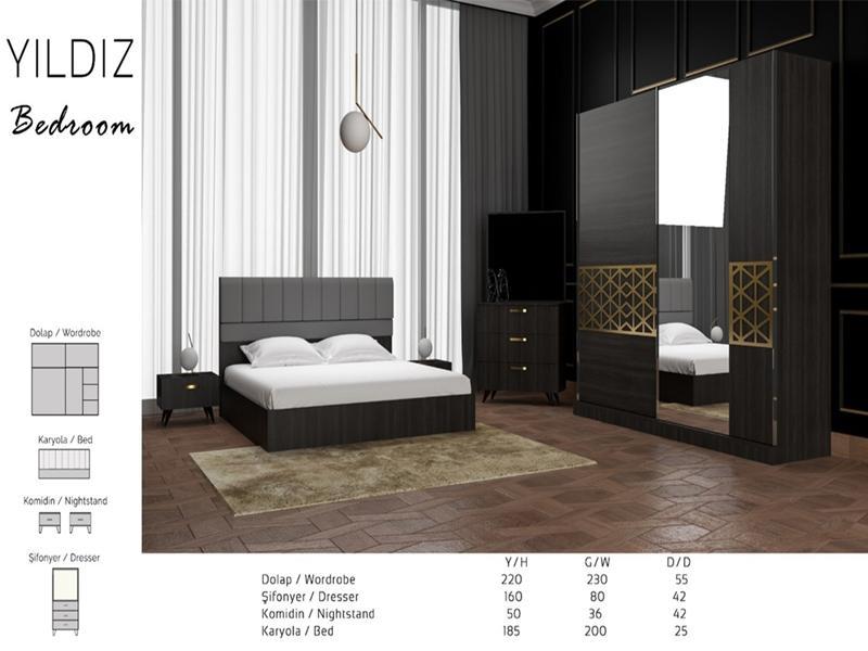 Спальный комплект Yldyz