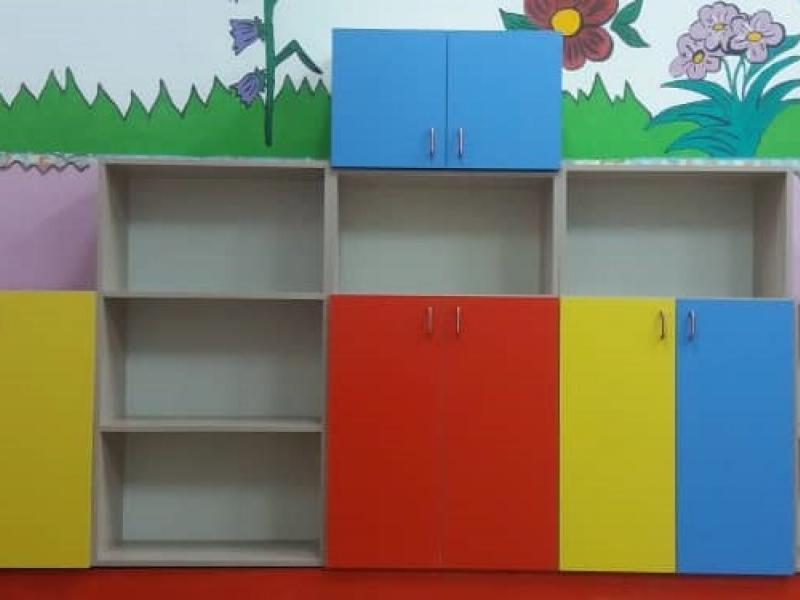 Стеллаж для книг и игрушек Стенка