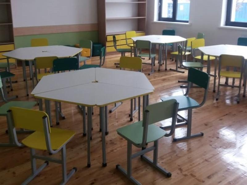Стол Лепесток с 6 стульями
